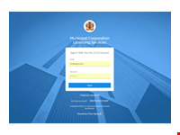 Municipal Corporation Services Application Management System